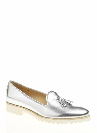 Divarese Klasik Ayakkabı Gümüş